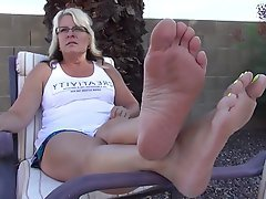 Amateur, Foot Fetish, Mature, MILF