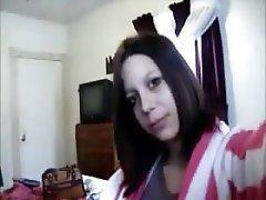 Webcam, Babe, Redhead, Smoking