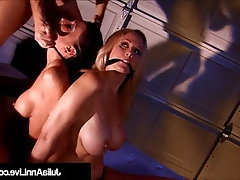 Blonde, Blowjob, MILF, Threesome