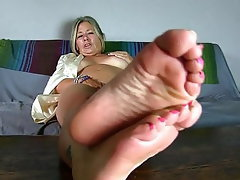 Amateur, Mature, Foot Fetish, Mature
