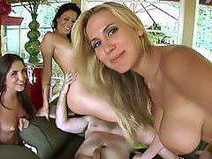Big Tits, Blonde, Brunette, Hardcore