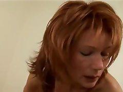 Masturbation, MILF, POV, Redhead