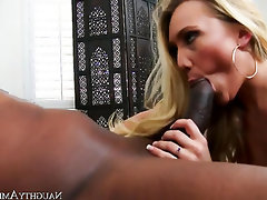 Big Ass, Big Cock, Cumshot, Interracial