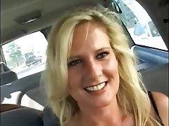 Blonde, Cumshot, Facial, MILF