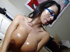 Blowjob, MILF, POV, Webcam