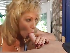 Blonde, Blowjob, Facial, Mature